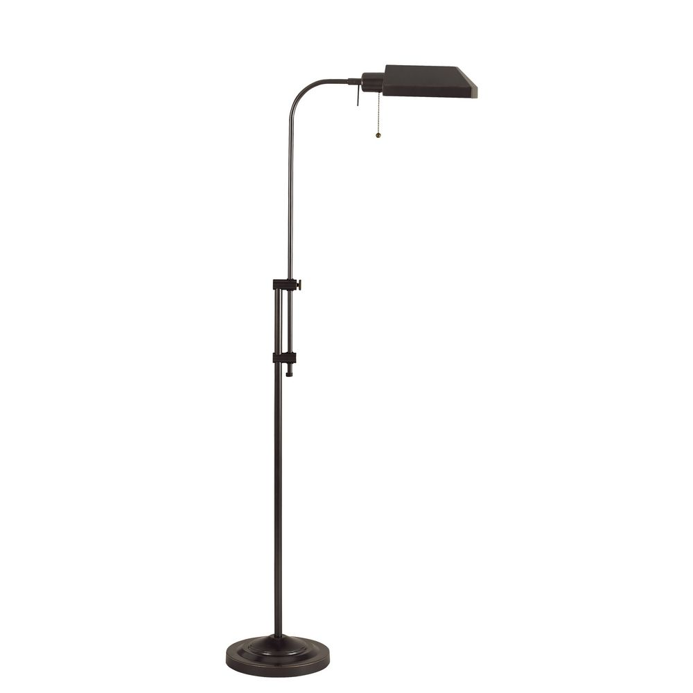 CAL Lighting Adjustable Pharmacy Floor Lamp BO 117FL DB