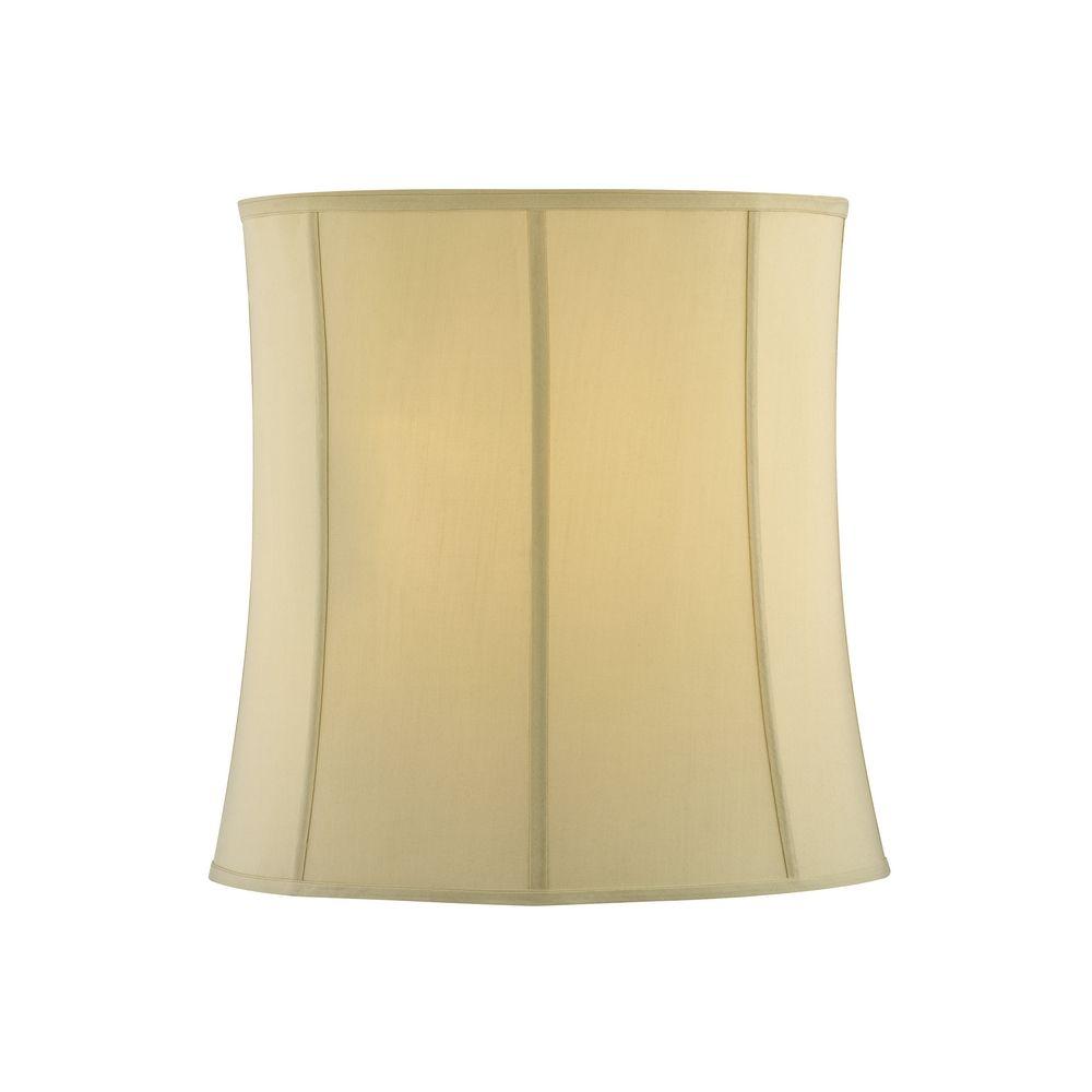 glow tapered silk lighting round product shades lamp by drum dupioni shade