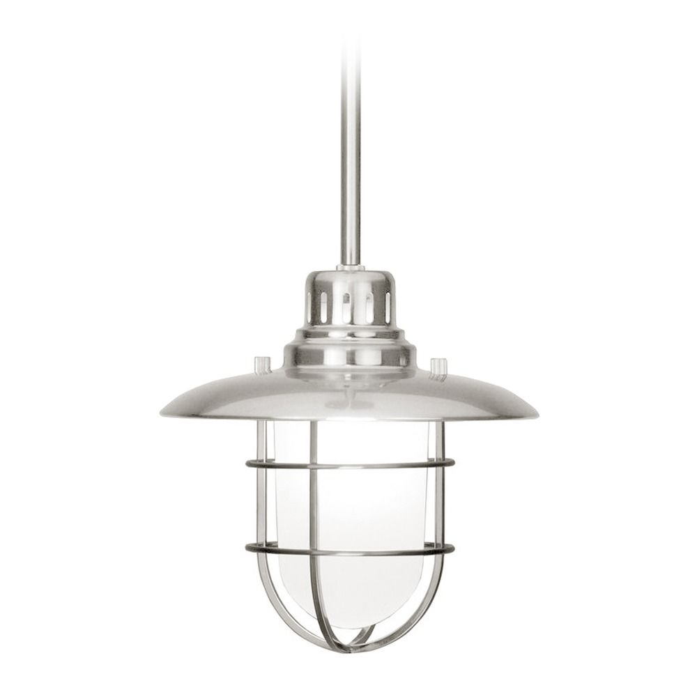 Nautical Mini Pendant Light In Satin Nickel 812 09