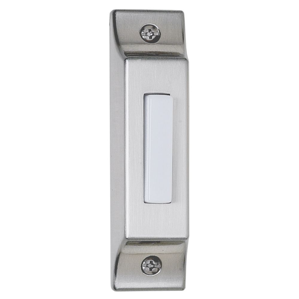 Craftmade Lighting Bscb Pw Lighted Surface Mount Doorbell