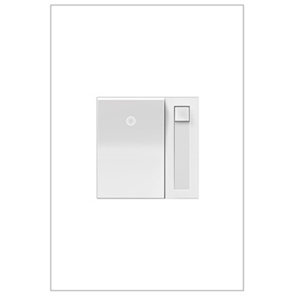 Legrand Adorne ADPD703HW4 700Watt White Paddle Wall Dimmer Light - Adorne 4 Way Switch Lowes