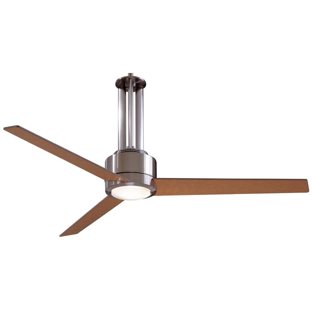 56 Inch Ceiling Fan With Three Blades And Light Kit