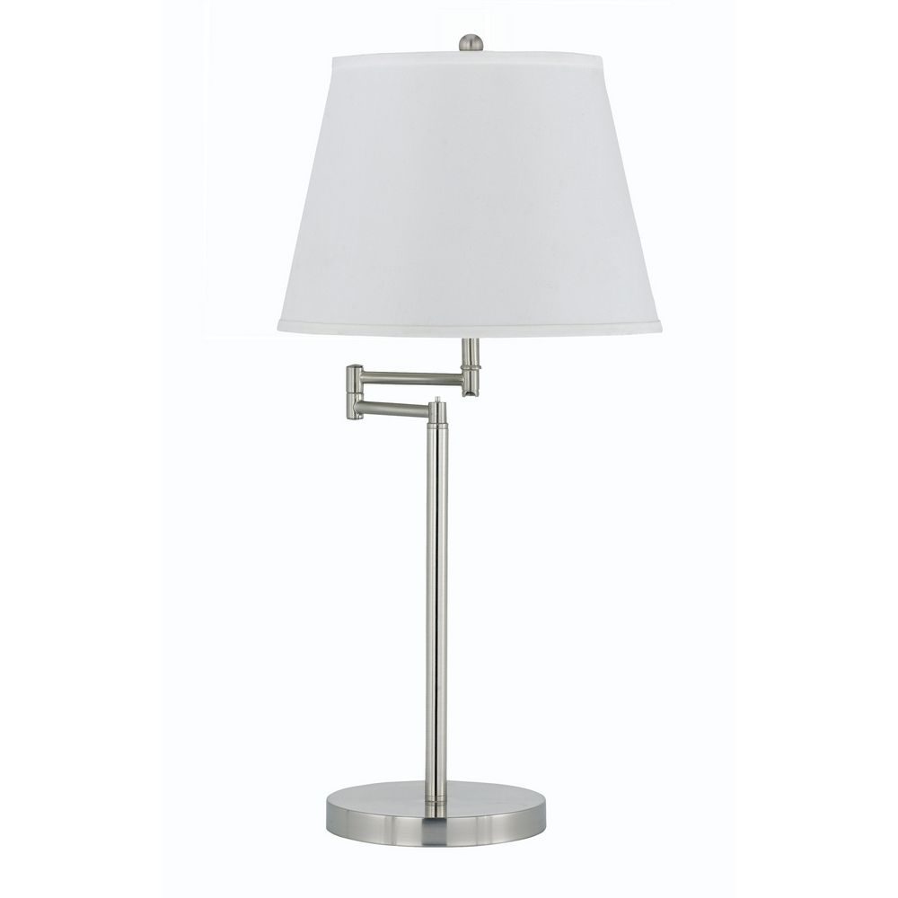 Swing arm table lamp with shade bo 2077 tbsh 1247 destination cal lighting swing arm table lamp with shade bo 2077 tbsh geotapseo Gallery