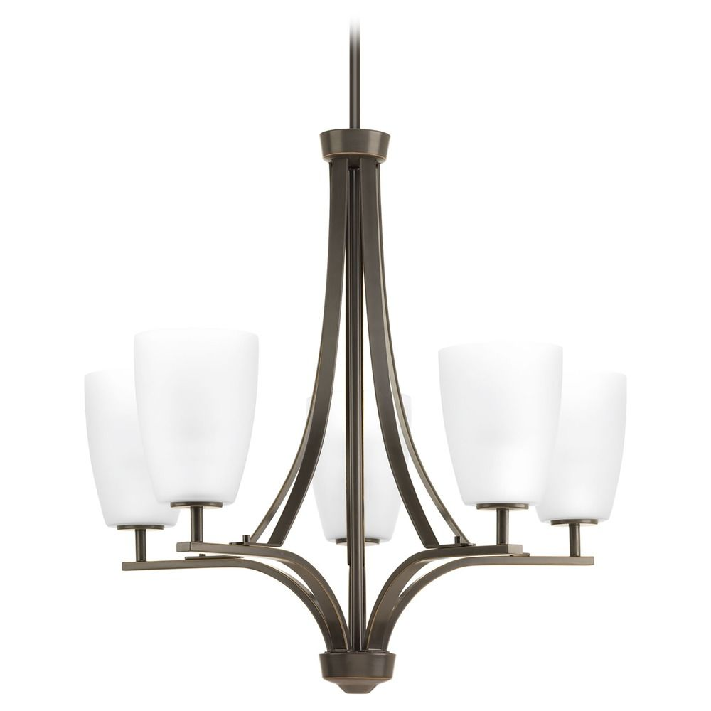 Progress Lighting Leap Antique Bronze Chandelier