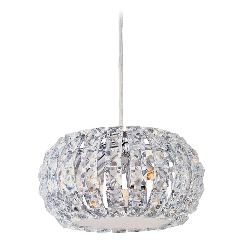 Crystal Mini Pendant Light With3 Lights E21803 20pc