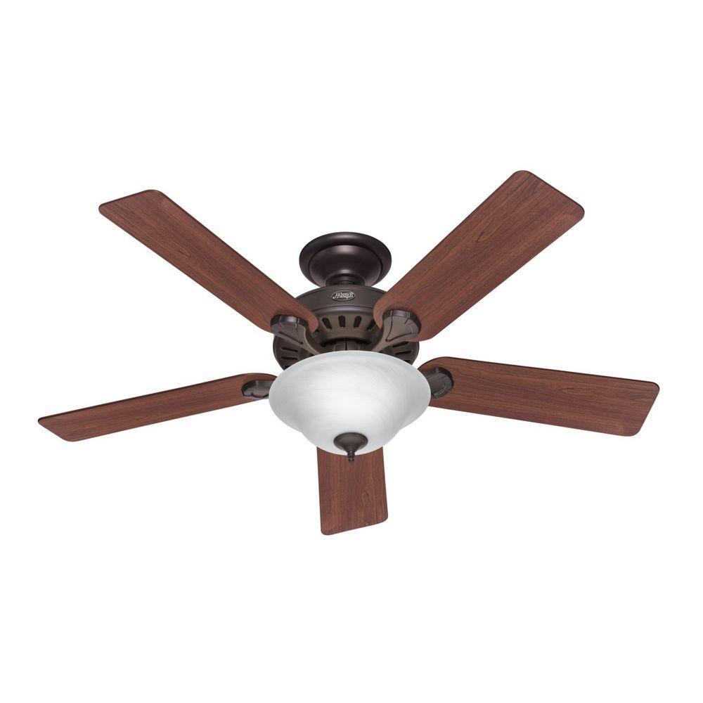 Hunter fan company five minute fan new bronze ceiling fan for Ceiling fan companies