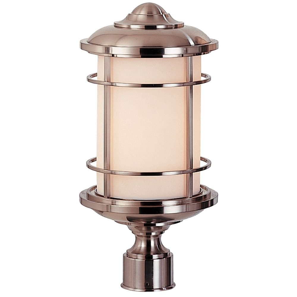 Outdoor post light ol2207bs destination lighting for Outdoor light post fixtures