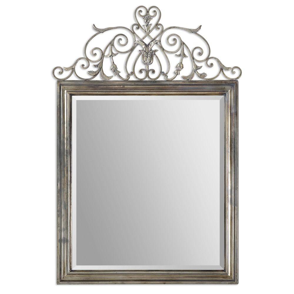 uttermost kissara metal mirror destination lighting