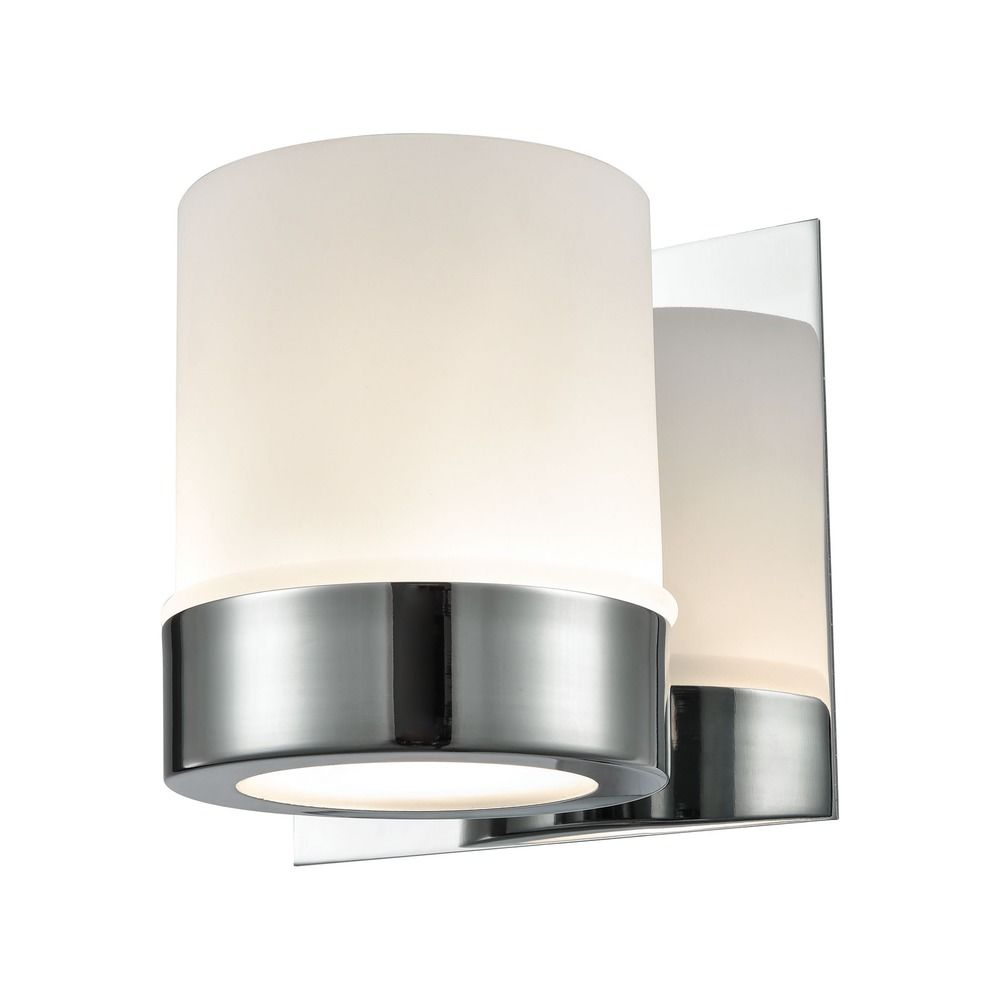 Darcy Glass And Chrome Coffee Table: Alico Lighting Mulholland Chrome Bathroom Light