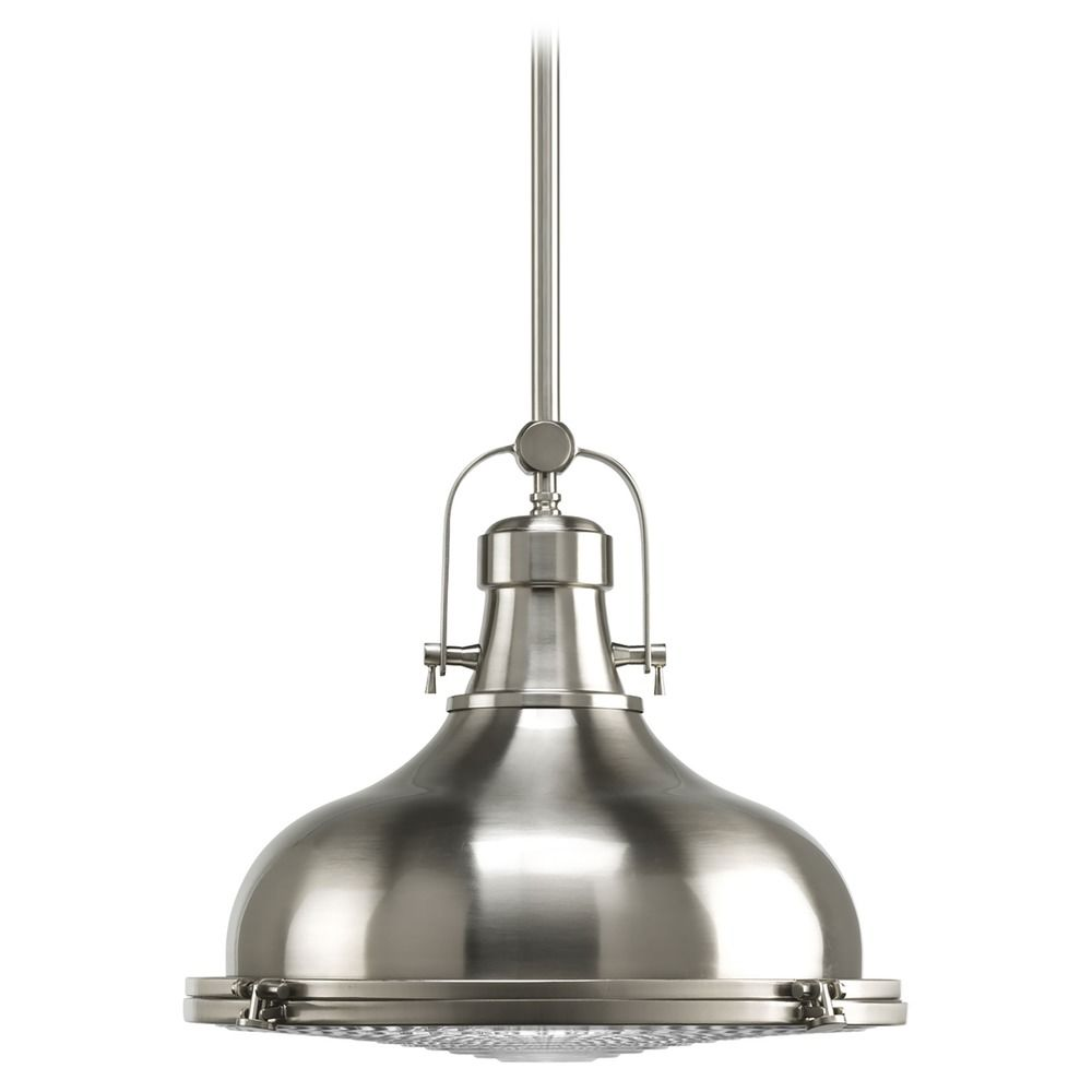 Nautical Satin Nickel Pendant Lights Destination Lighting