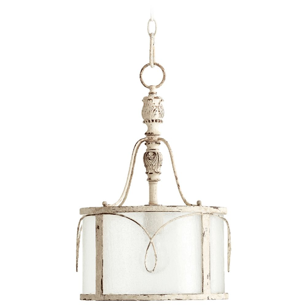Quorum Lighting Salento Persian White Pendant Light With