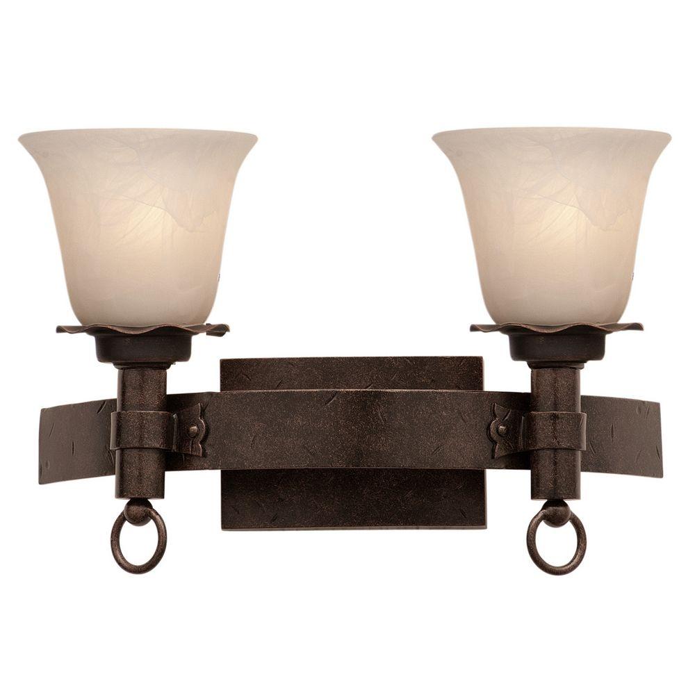 Kalco lighting americana antique copper bathroom light 4202ac 1219 destination lighting for Copper bathroom light fixtures