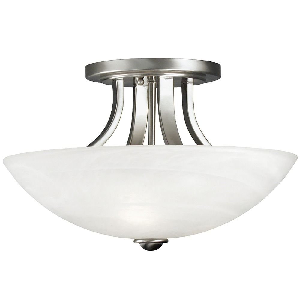 Dolan Designs Lighting Semi Flush Ceiling Light 204 09