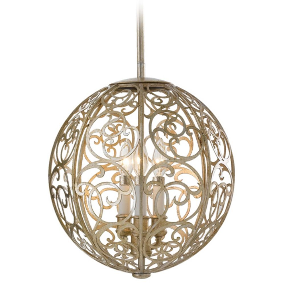 asian pendant lighting. pendant light in silver leaf patina finish asian lighting