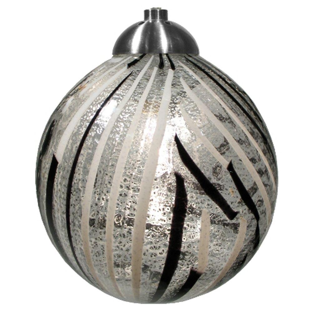 Oggetti lighting perle satin nickel mini pendant light for Oggetti lighting