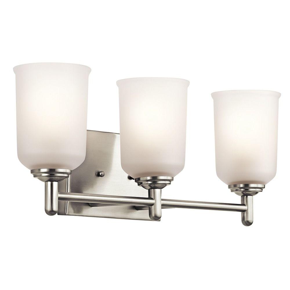 kichler lighting shailene bathroom light 45574ni destination