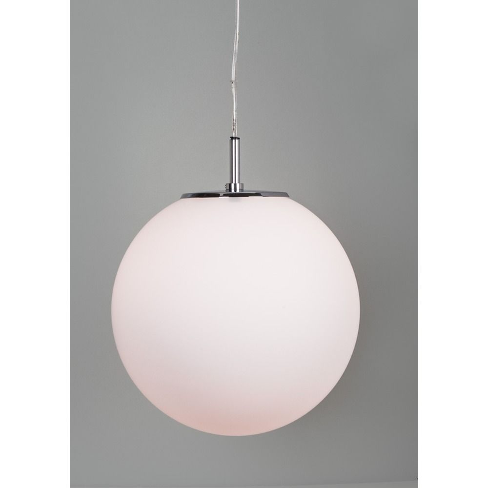 illuminating experiences galaxy pendant light with  white globe  - illuminating experiences galaxy pendant light with