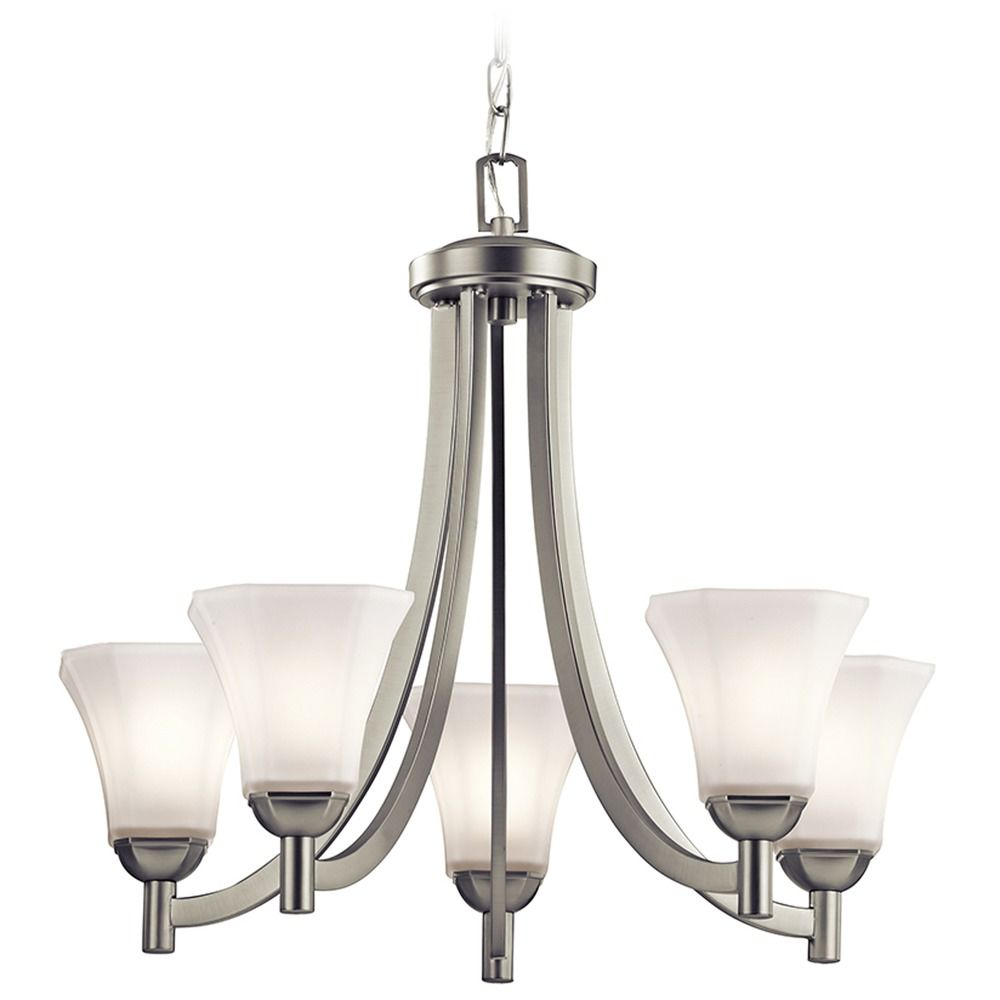 Kichler Lighting: Kichler Serena 5-Light Chandelier In Brushed Nickel