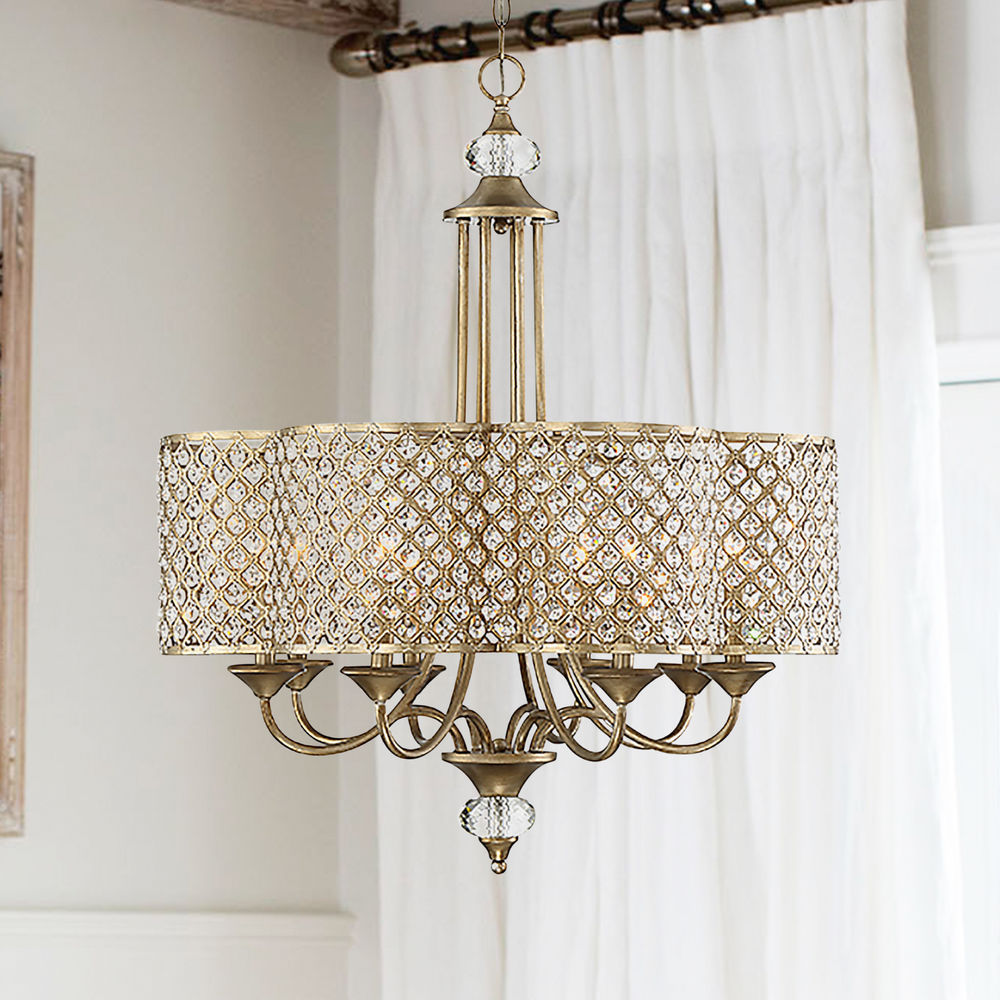 Savoy House Regis 8 Light Pyrite Chandelier 1 2401 8 98 Destination Lighting