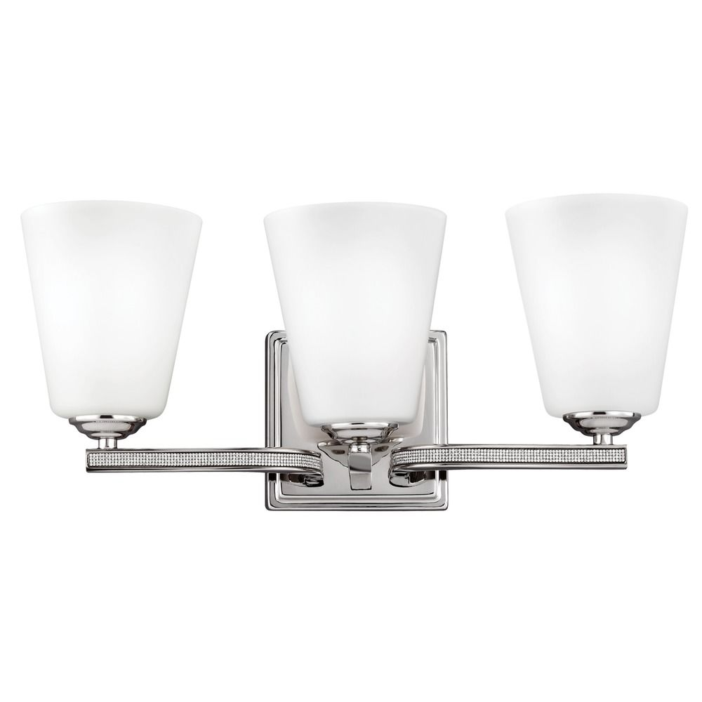 Feiss Lighting Pave Polished Nickel Bathroom Light Vs20203pn Destination Lighting