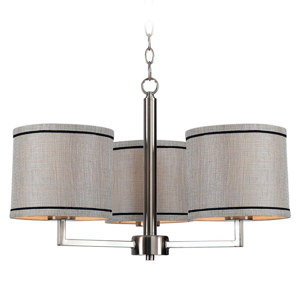 Kenroy home margot brushed steel chandelier 93763bs destination product image arubaitofo Gallery