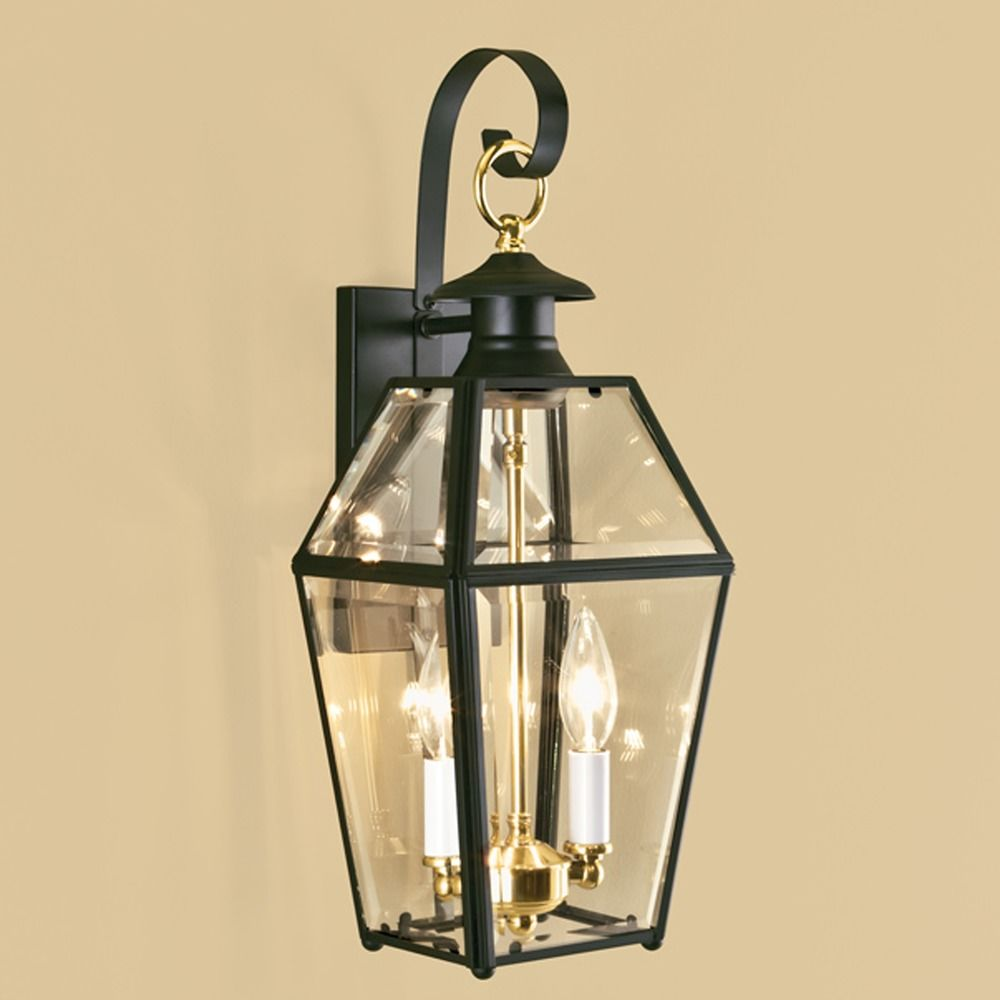 Norwell lighting olde colony verde outdoor wall light 1066 ve be destination lighting for Exterior wall mounted lanterns