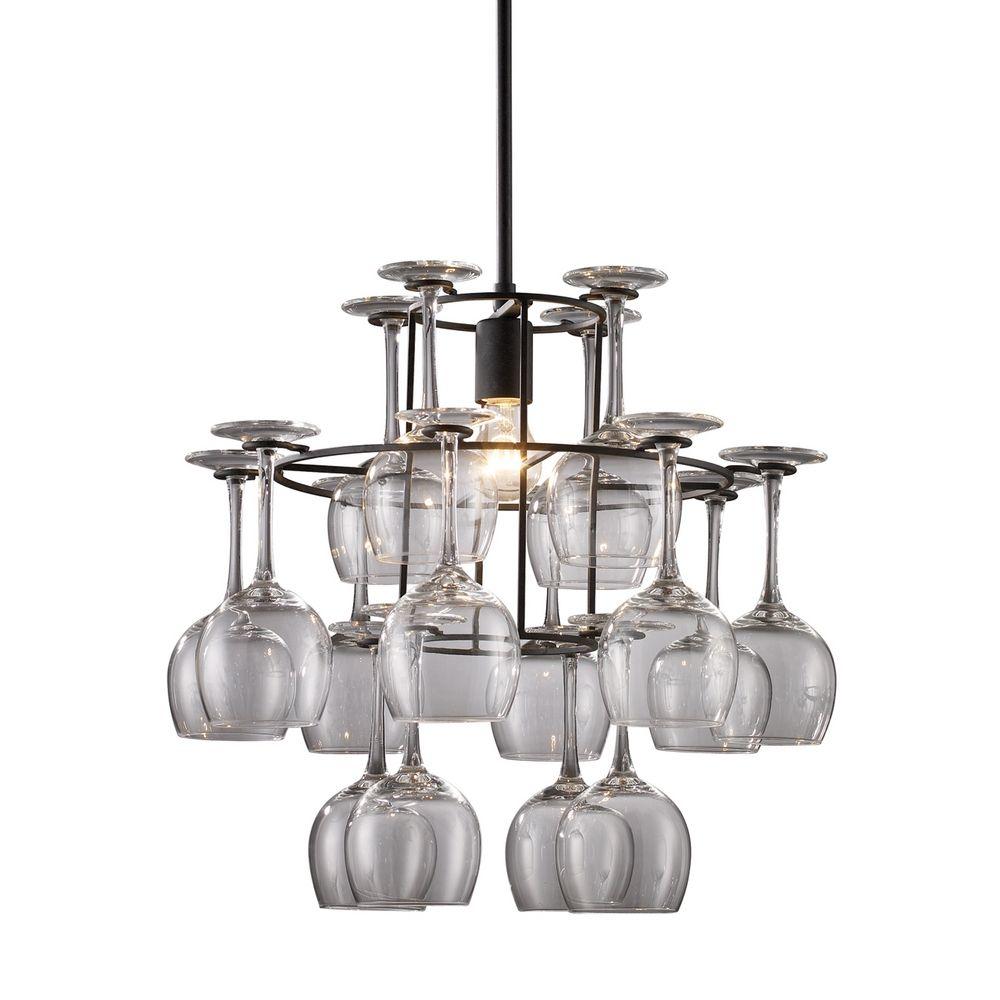 Wine glass chandelier chandelier designs wine glass chandelier arubaitofo Choice Image