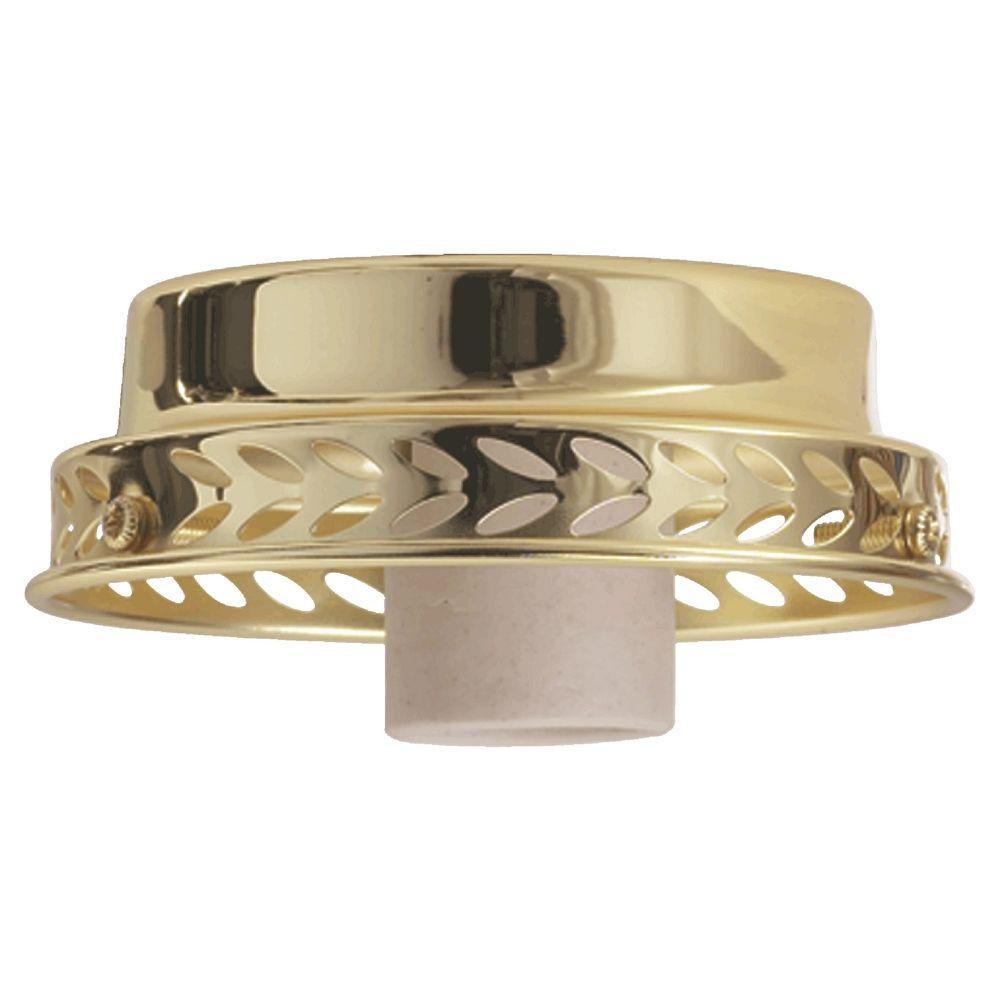 quorum lighting polished brass fan light kit 4102 802. Black Bedroom Furniture Sets. Home Design Ideas