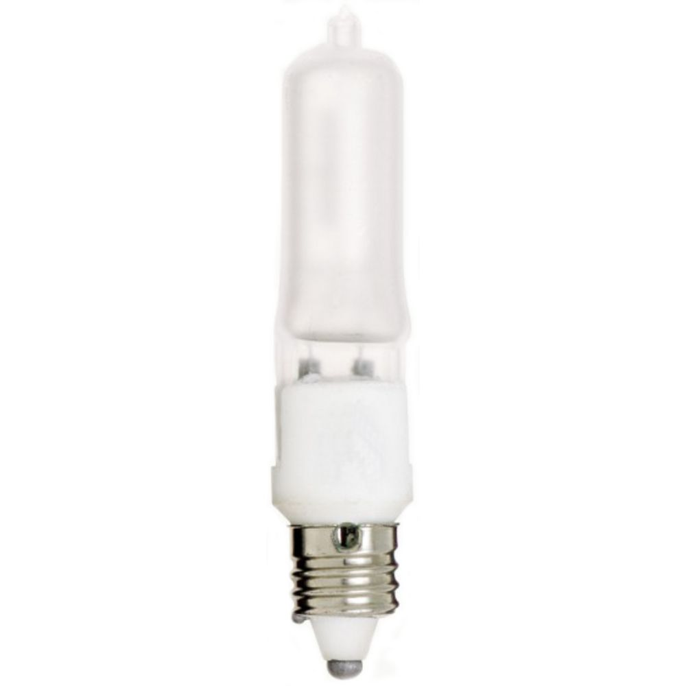 Frosted 100 Watt Mini Can Halogen Light Bulb S1916 Destination Lighting