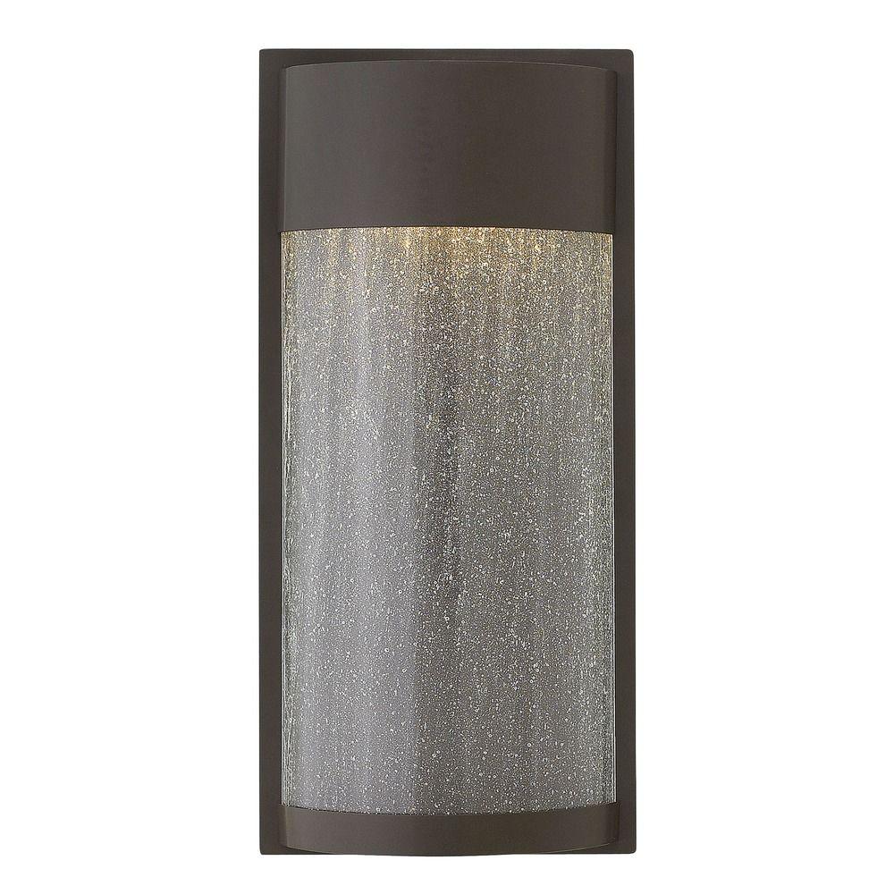 Hinkley Outdoor Wall Light: Hinkley Lighting Shelter Buckeye Bronze LED Outdoor Wall