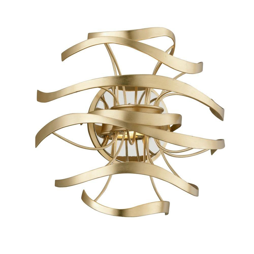 Corbett Lighting Calligraphy Gold Leaf LED Sconce