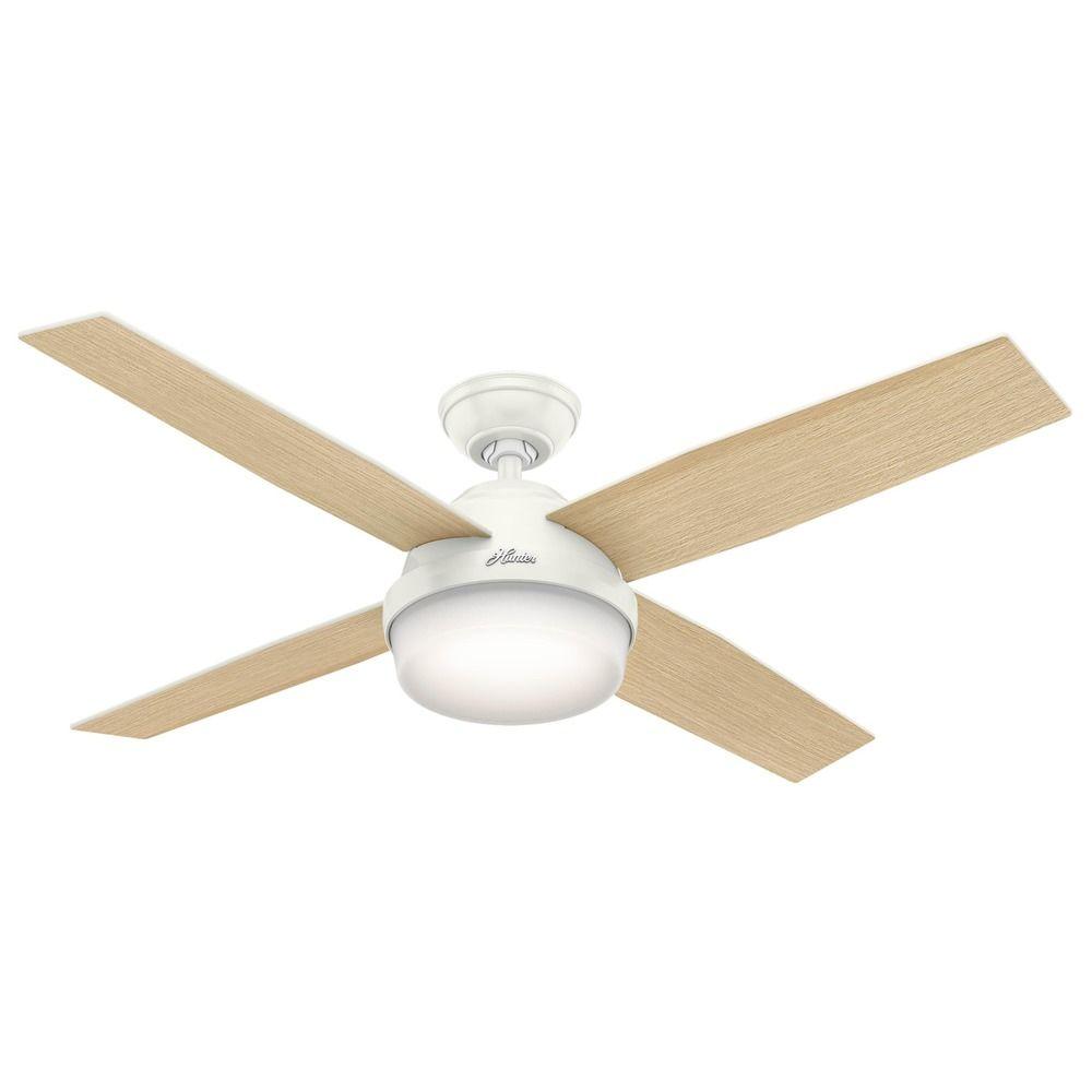 Hunter Fan Company Dempsey Fresh White Led Ceiling Fan