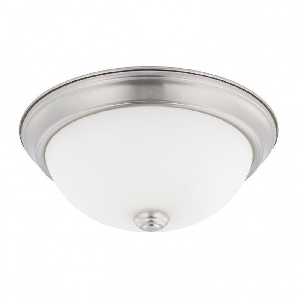 capital lighting ceiling brushed nickel flushmount light. Black Bedroom Furniture Sets. Home Design Ideas