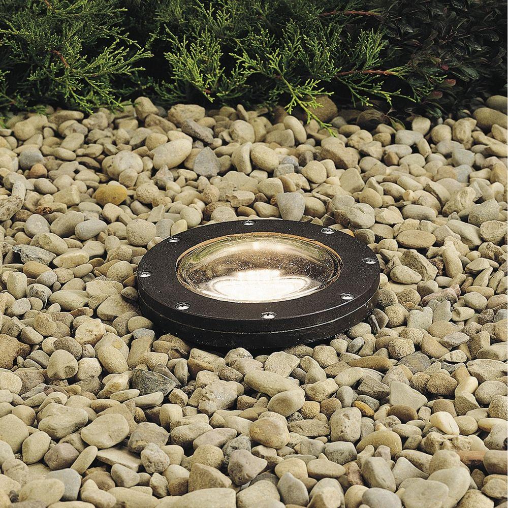 in ground lighting. Kichler Lighting In-Ground Low Voltage Well Light 15194AZ In Ground Lighting
