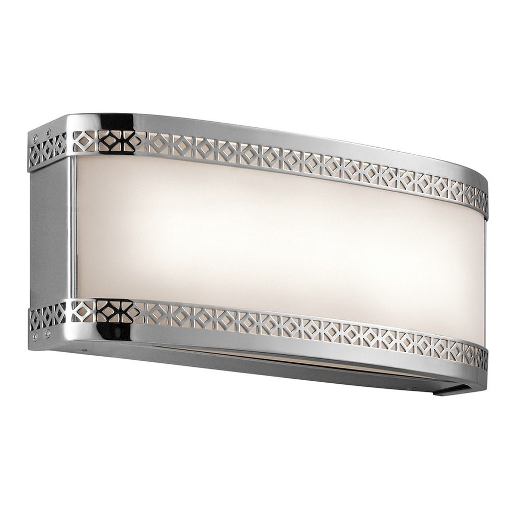 Kichler Lighting Contessa LED Bathroom Light 45851CHLED Destination Lighting