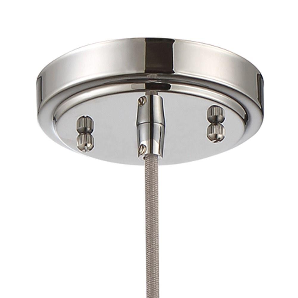 Craftmade Lighting Chrome Mini-Pendant Light with Bell Shade ...