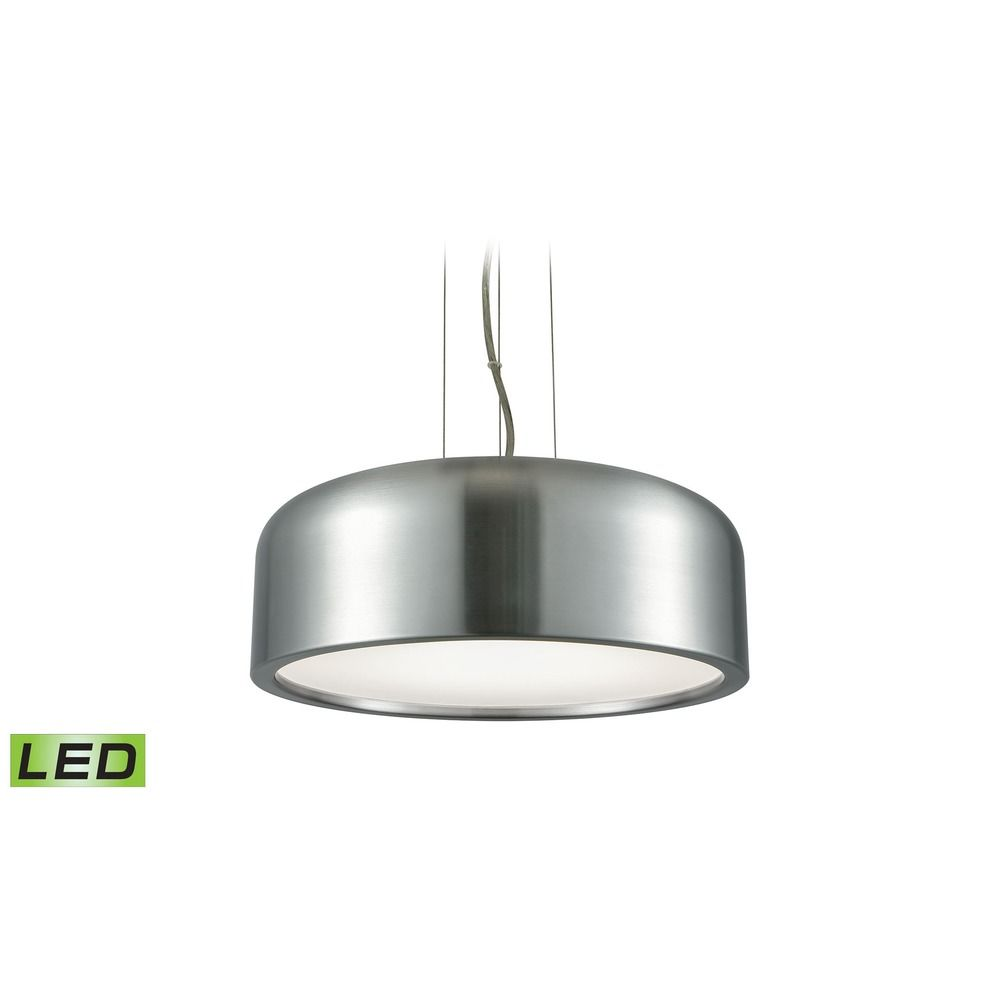 Alico Lighting Kore Aluminum Led Pendant Light With Bowl Dome Shade At Destination