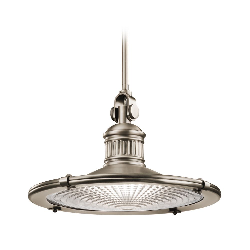 Kichler Lighting Sayre Antique Pewter Pendant Light 42440AP Destination L
