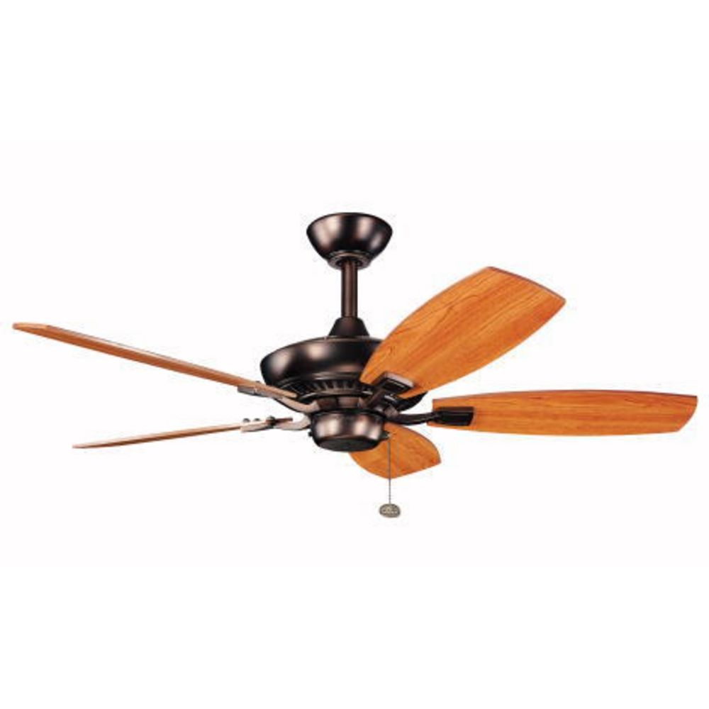 Kichler 44 Inch Ceiling Fan With Five Blades 300107obb