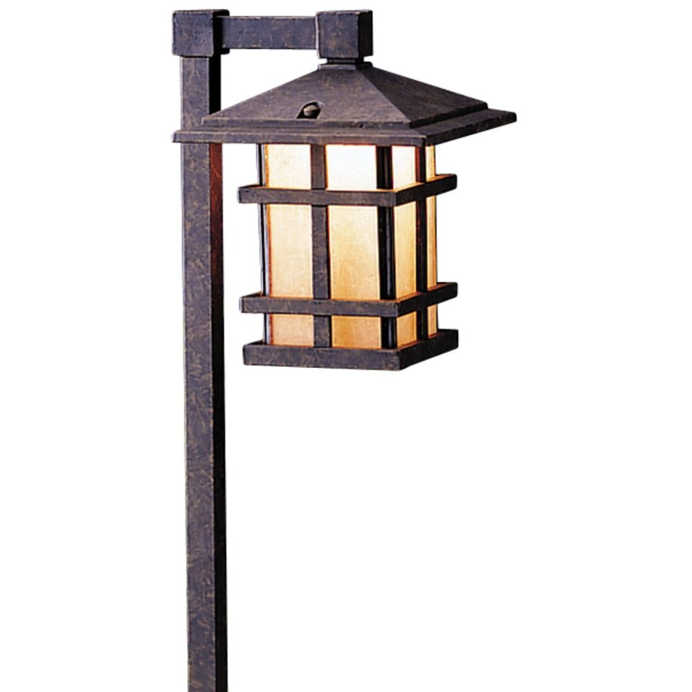 Kichler low voltage path light 15322agz destination for Low voltage walkway lighting sets