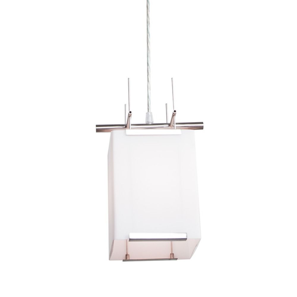illuminating experiences symmetry minipendant light with square  - product image