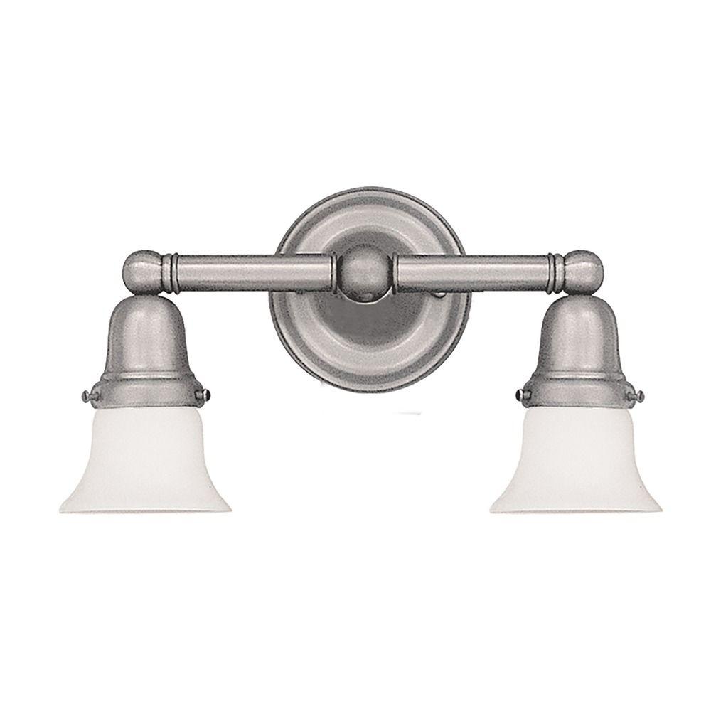 Hudson Valley Lighting Historic Collection Satin Nickel Bathroom Light 862 Sn 341