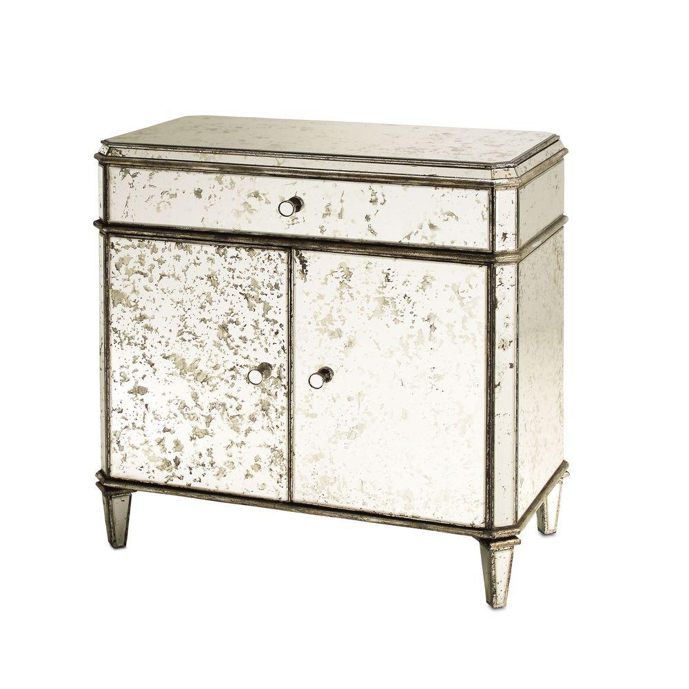 Cabinets / Storage / Organization in Antique Mirror Finish ...