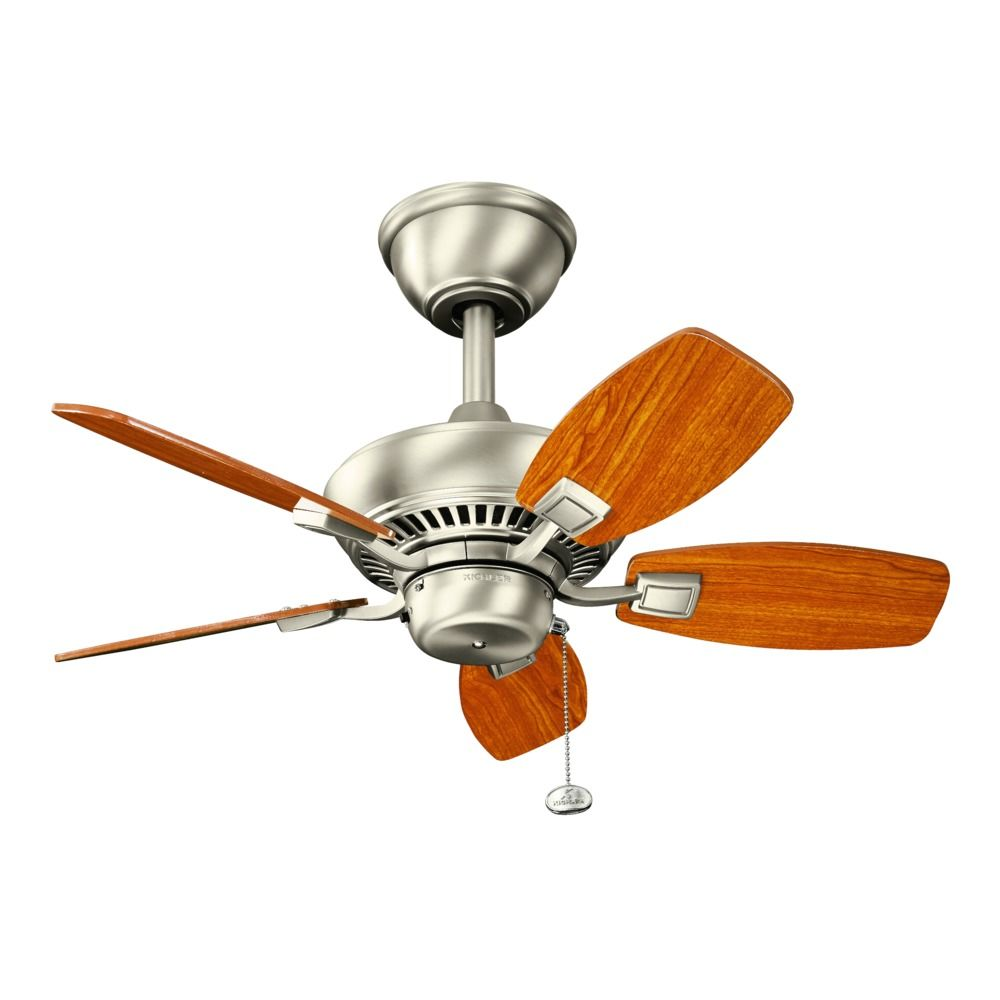 Kichler 30 Inch Ceiling Fan With Five Blades 300103ni