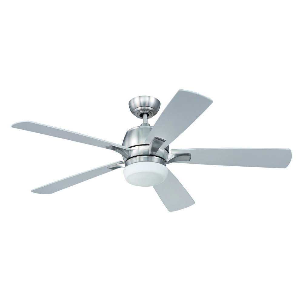 Craftmade Lighting Pulsar Stainless Steel Ceiling Fan with