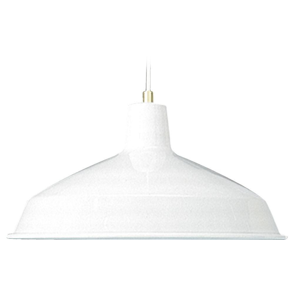 Barn Light White 16-inch Wide By Quorum Lighting