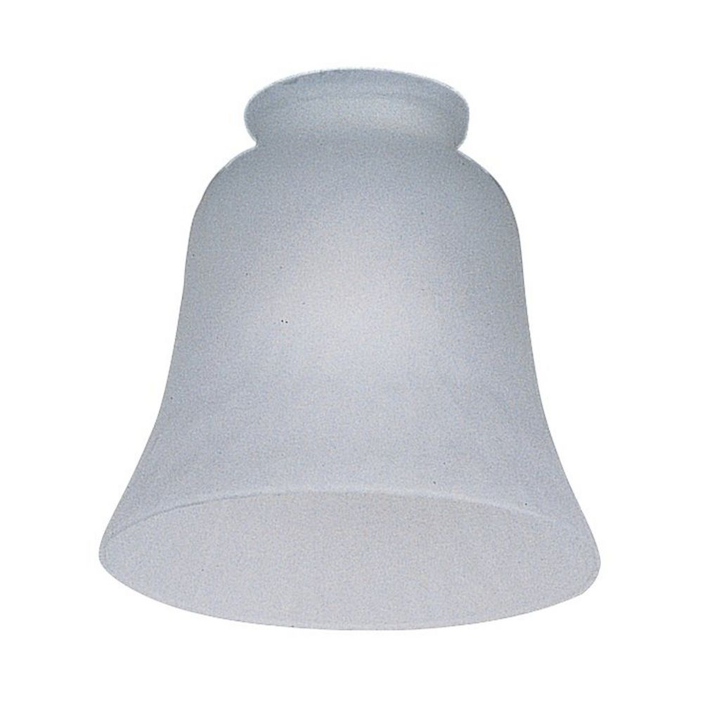 White Bell Glass Shade 2 1 4 Inch Fitter Opening G1014