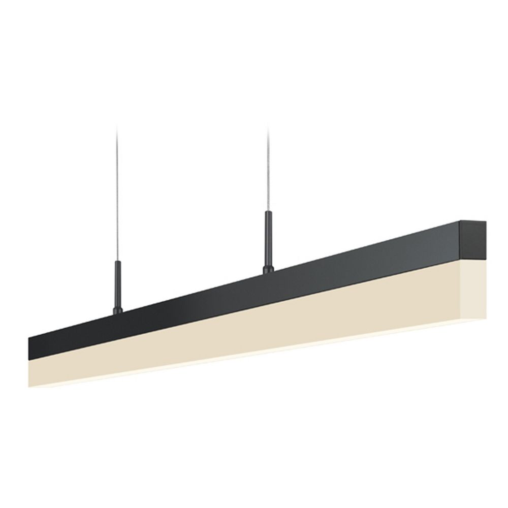 Sonneman Lighting Stiletto Satin Black LED Pendant Light