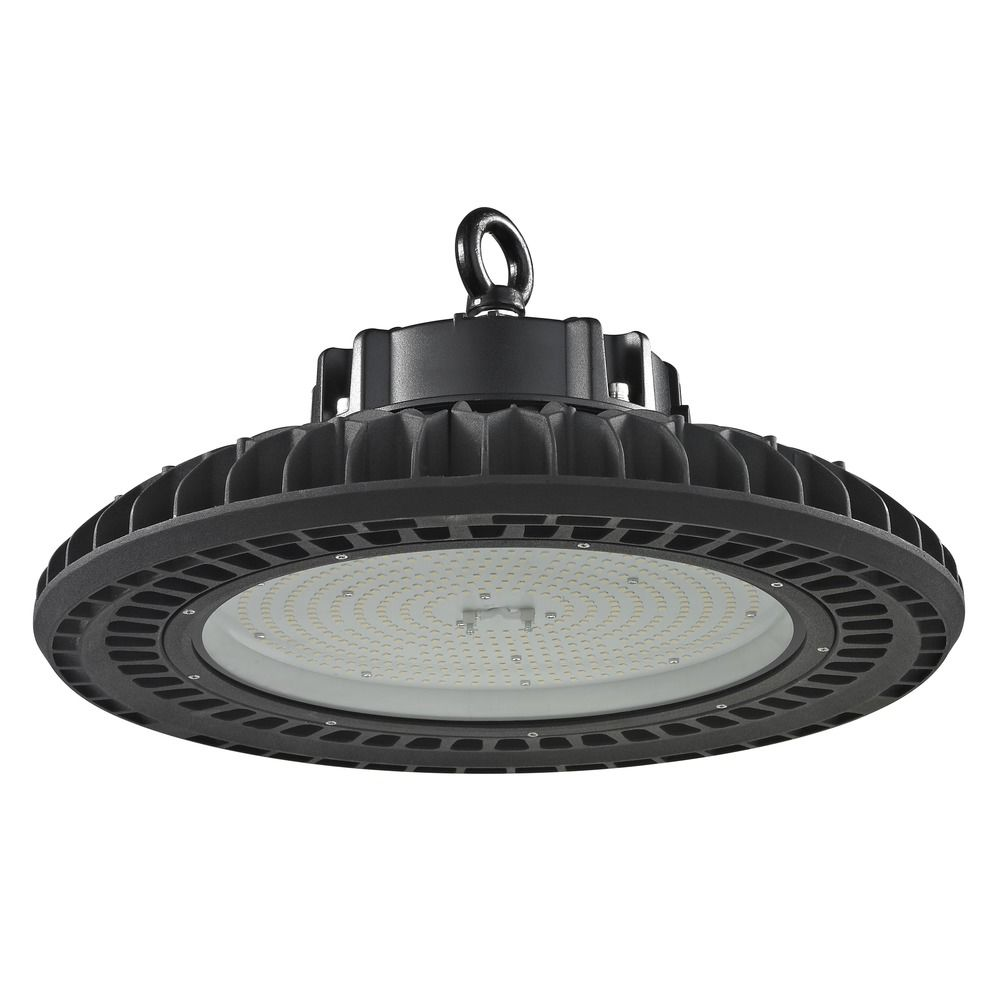 Led High Bay With Emergency: UFO LED High Bay Light Black 240-Watt 120v-277v 33990