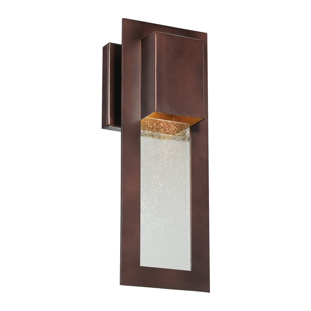 hover or click to zoom. modern outdoor wall light in bronze    destination lighting